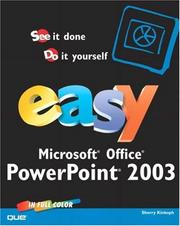 Cover of: Easy PowerPoint 2003 | Sherry Kinkoph