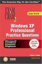 Cover of: Windows XP professional practice questions | Vic Picinich