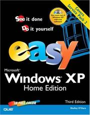 Cover of: Easy Microsoft Windows XP Home Edition (3rd Edition) (Easy)