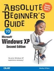 Cover of: Absolute Beginner's Guide to Windows XP
