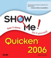 Cover of: Show Me Quicken 2006 (Show Me)