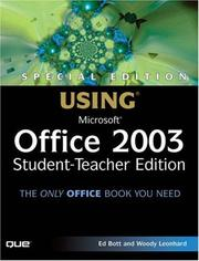 Cover of: Special Edition Using Microsoft Office 2003, Student-Teacher Edition