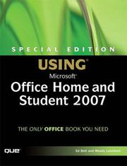 Cover of: Special Edition Using Microsoft(R) Office Home and Student 2007