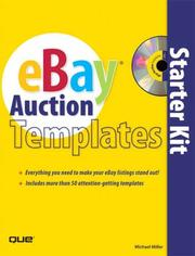 Cover of: eBay Auction Templates Starter Kit (One Off) | Michael Miller