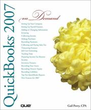 Cover of: QuickBooks 2007 On Demand