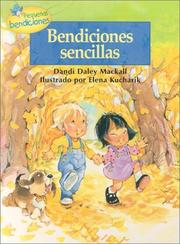 Cover of: Bendiciones Sencillas / Simple Blessings (Pequeñas Bendiciones)