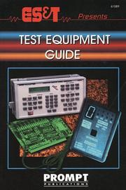 Cover of: ES&T Mag.Presents the Test Equipment Guide (Electronic Servicing & Technology) | ES and T