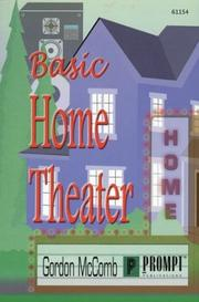 Cover of: Basic Home Theater Installation