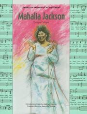 Cover of: Mahalia Jackson (American Women of Achievement)