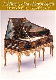 Cover of: A History of the Harpsichord