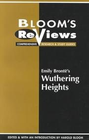 Cover of: Emily Bronte's Wuthering Heights