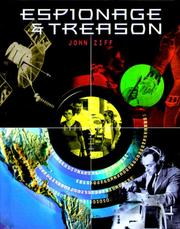 Cover of: Espionage and Treason (Crime, Justice, and Punishment) | John Ziff