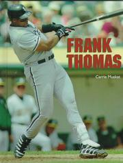 Cover of: Frank Thomas | Carrie Muskat