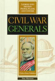 Cover of: Civil War generals