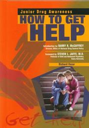 Cover of: How to Get Help (Junior Drug Awareness)