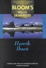 Cover of: Henrik Ibsen: Comprehensive Research and Study Guide