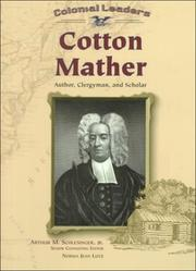 Cover of: Cotton Mather