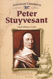 Cover of: Peter Stuyvesant