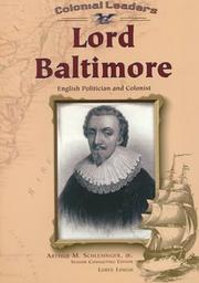 Cover of: Lord Baltimore