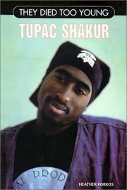 Cover of: Tupac Shakur | Heather Forkos