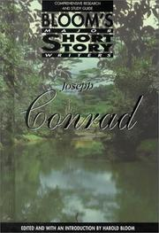 Cover of: Joseph Conrad: Comprehensive Research and Study Guide (Bloom's Major Short Story Writers)