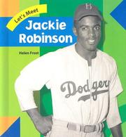 Cover of: Jackie Robinson (Let's Meet Biographies)
