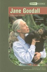 Cover of: Jane Goodall (Women in Science) | Lisa Kozleski