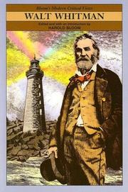 Cover of: Walt Whitman