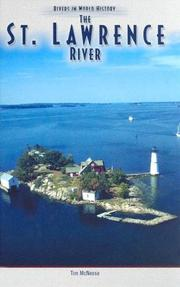 Cover of: The St. Lawrence River