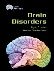 Cover of: Brain disorders