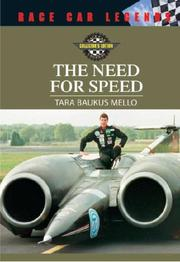 Cover of: The need for speed