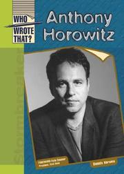 Cover of: Anthony Horowitz