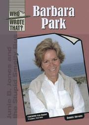 Cover of: Barbara Park