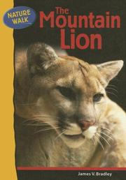 Cover of: The Mountain Lion (Nature Walk) |