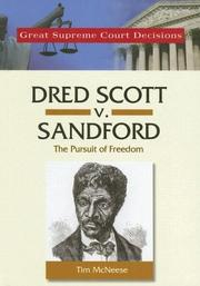 Cover of: Dred Scott V. Sanford (Great Supreme Court Decisions)