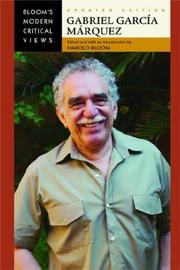 Cover of: Gabriel Garcia Marquez