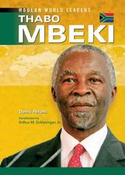Cover of: Thabo Mbeki (Modern World Leaders)
