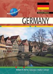 Cover of: Germany (Modern World Nations) by William R. Horne, Zoran Pavlovic