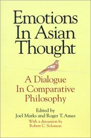 Cover of: Emotions in Asian thought |