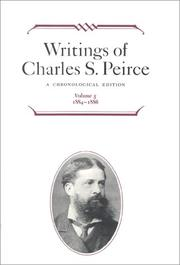Cover of: Writings of Charles S. Peirce: A Chronological Edition