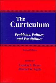 Cover of: The curriculum