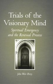 Cover of: Trials of the Visionary Mind | John Weir Perry
