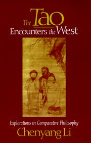 Cover of: The Tao encounters the West