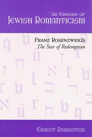 Cover of: An episode of Jewish romanticism | Ernest Rubinstein