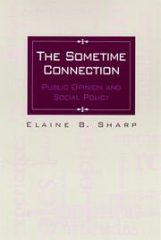 Cover of: The Sometime Connection | Elaine B. Sharp