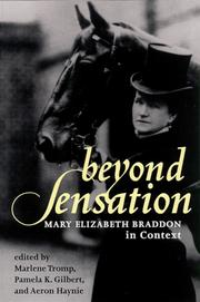 Cover of: Beyond Sensation |
