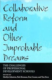 Cover of: Collaborative Reform and Other Improbable Dreams |