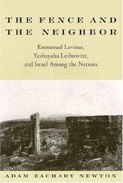 Cover of: The Fence and the Neighbor | Adam Zachary Newton