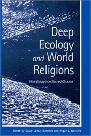 Cover of: Deep ecology and world religions by