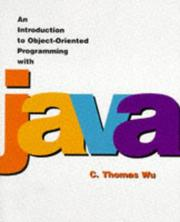 Cover of: An Introduction to Object-Oriented Programming With Java